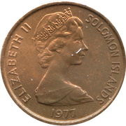 1 cent – avers