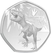 20 Cents - Elizabeth II (Tyrannosaurus Rex) – revers