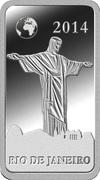 ½ Dollar - Elizabeth II (Rio de Janeiro) – revers