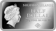 ½ Dollar - Elizabeth II (London) – avers