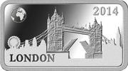 ½ Dollar - Elizabeth II (London) – revers