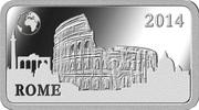 ½ Dollar - Elizabeth II (Rome) – revers