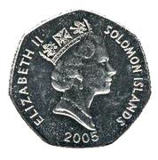 1 dollar - Elizabeth II (3ème effigie ; non-magnétique) -  avers