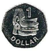 1 dollar - Elizabeth II (3ème effigie ; non-magnétique) -  revers