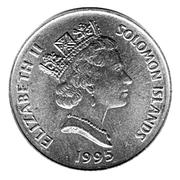 20 cents - Elizabeth II (3° effigie ; FAO) – avers