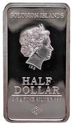 ½ Dollar - Elizabeth II (New York) – avers