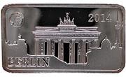 ½ Dollar - Elizabeth II (BERLIN) – revers