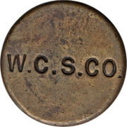 1 penny (West Caicos Sisal Company) – revers