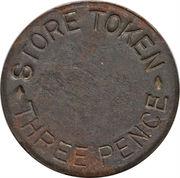 3 pence (West Caicos Sisal Company) – avers