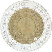 5 Dollars - Elizabeth II (Hans Christian Andersen) – avers