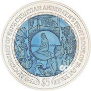 5 Dollars - Elizabeth II (Hans Christian Andersen) – revers