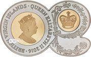 1 Dollar - Elizabeth II (90th birthday) – avers