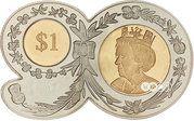 1 Dollar - Elizabeth II (90th birthday) – revers