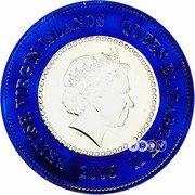 5 Dollars - Elizabeth II (80th birthday of the Queen) – avers