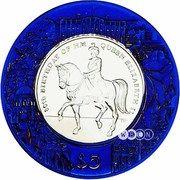 5 Dollars - Elizabeth II (80th birthday of the Queen) – revers