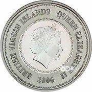 5 Dollars - Elizabeth II (250th anniversary of the birth of Mozart) – avers