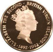 25 Dollars - Elizabeth II (Columbus before Queen Isabella) – avers