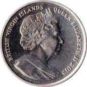 1 Dollar - Elizabeth II (Cathrine the Great) – avers