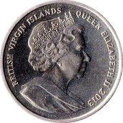 1 Dollar - Elizabeth II (Alexander I) – avers