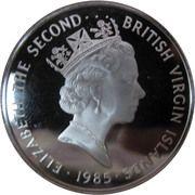 20 dollars - Elizabeth II (3eme effigie; laiton nocturne) – avers