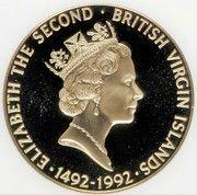 250 Dollars - Elizabeth II (Discovery of America) – avers