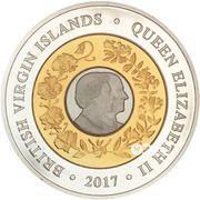 10 Dollars - Elizabeth II (Platinum wedding) – avers