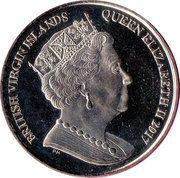 1 Dollar - Elizabeth II (Tiny Bee Hummingbird) – avers