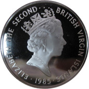 20 dollars - Elizabeth II (3eme effigie; Bouteille en porcelaine) – avers