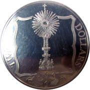 20 dollars - Elizabeth II (3eme effigie; Monstrance d'or) – revers
