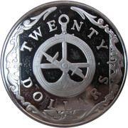 20 dollars - Elizabeth II (3eme effigie; Astrolabe) – revers
