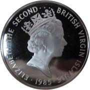 20 dollars - Elizabeth II (3eme effigie; barre d'or) – avers