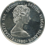 5 dollars - Elizabeth II (3eme effigie) – avers