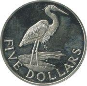 5 dollars - Elizabeth II (3eme effigie) – revers