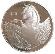 1 Dollar - Elizabeth II (Pegasus - 2018) – revers