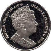 1 Dollar - Elizabeth II (Great white shark) – avers