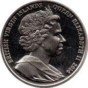 1 Dollar - Elizabeth II (Lawrence of Arabia) – avers