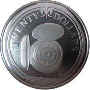 20 dollars - Elizabeth II (3eme effigie; Montre de poche) – revers