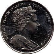1 Dollar - Elizabeth II (60th Anniversary of V.E. Day 1945) – avers