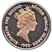 1 cent - Elizabeth II (3eme effigie) – avers