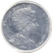 1 dollar 2005 Elizabeth II 4e effigie 2 Dauphins – avers