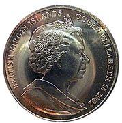 1 Dollar - Elizabeth II (Jubilé d'or) – avers