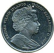 1 Dollar - Elizabeth II (Queen Elizabeth II) – avers