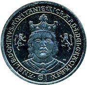1 Dollar - Elizabeth II (King Richard I the Lionheart) – revers