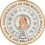 200 Dollars - Elizabeth II – revers