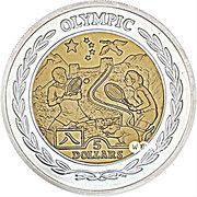 5 Dollars - Elizabeth II (Olympics) – revers