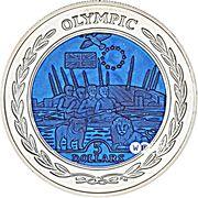 5 Dollars - Elizabeth II (Olympics, Europe) – revers