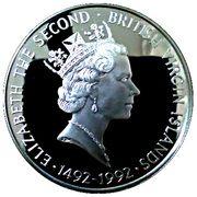 25 dollars - Elizabeth II (4ème effigie - découverte de l'Amérique) – avers