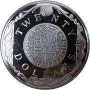 20 dollars - Elizabeth II (3eme effigie; Dubloon d'or) – revers