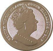 1 Dollar - Elizabeth II (100th Anniversary of birth of John F. Kennedy – avers
