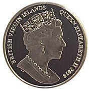10 Dollars - Elizabeth II (Sapphire Coronation) – avers